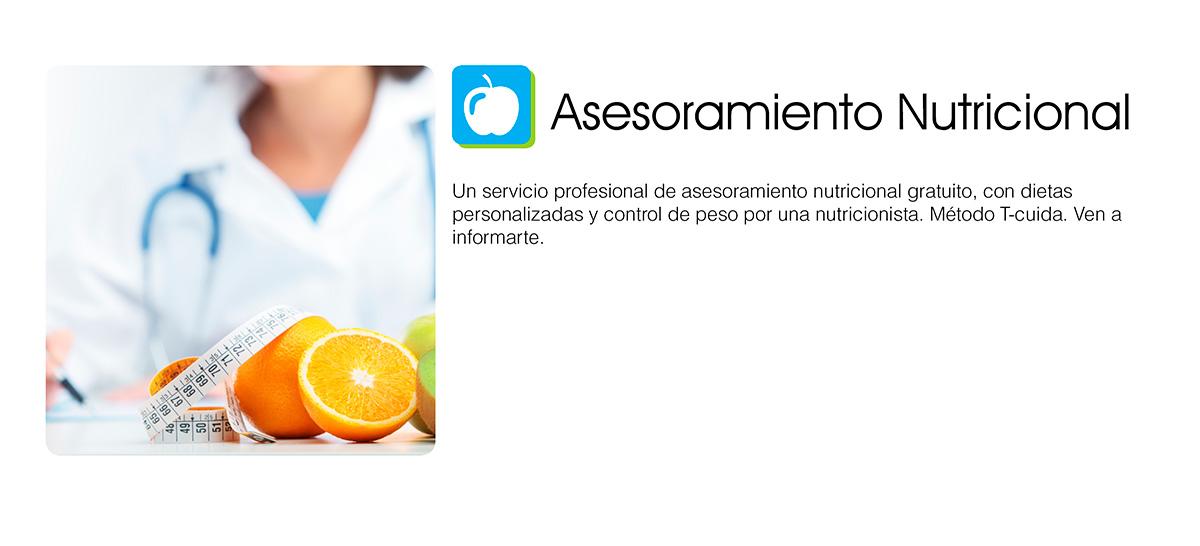 asesoramiento nutricional - Farmacia Eva Cela